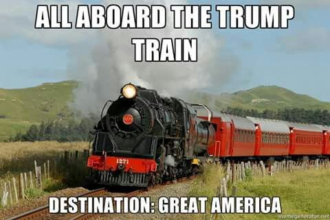 All Aboard The Trump Train!!!