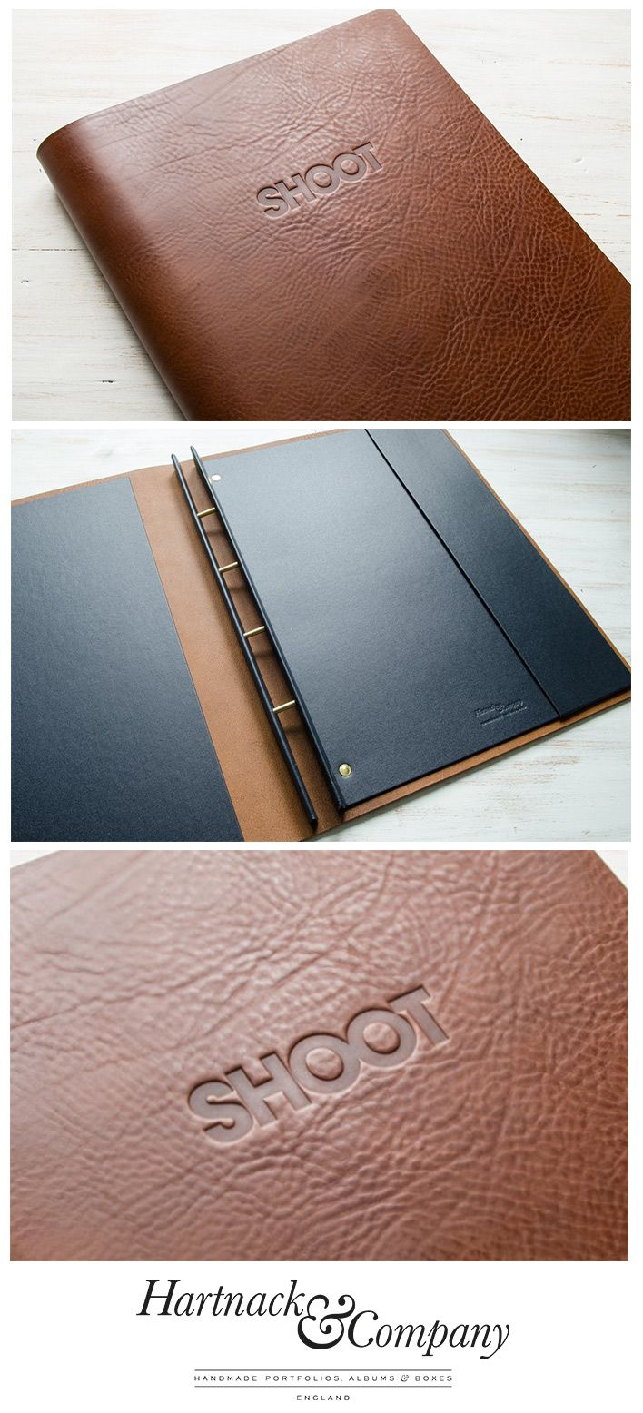 Leather Screw Post Portfolio (not personalised) | Book