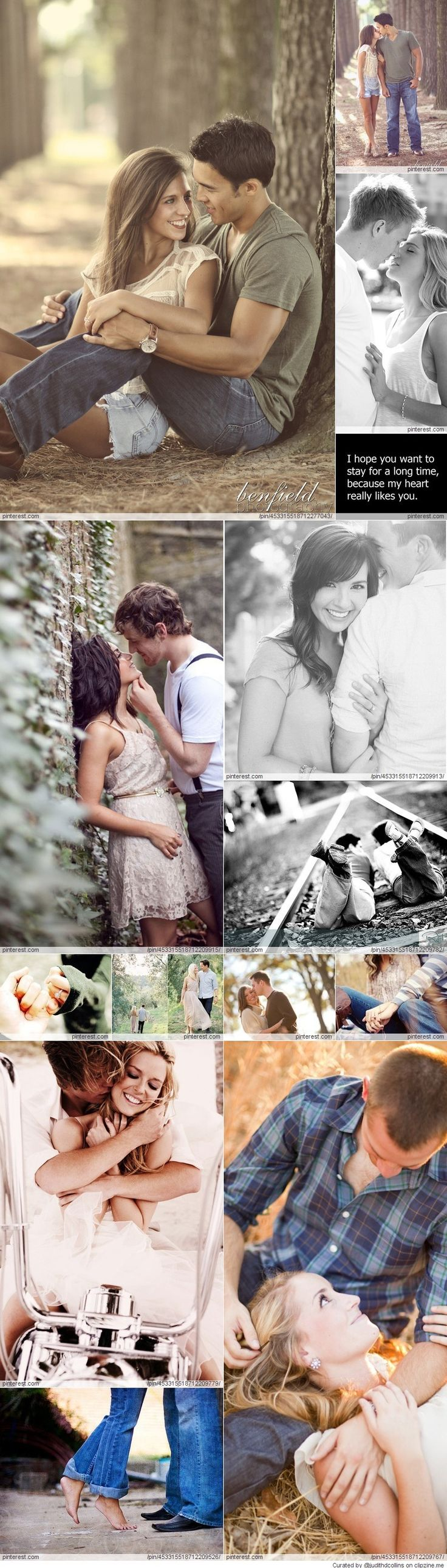 Engagement Photography: so cute! These are some great outfit ideas too!