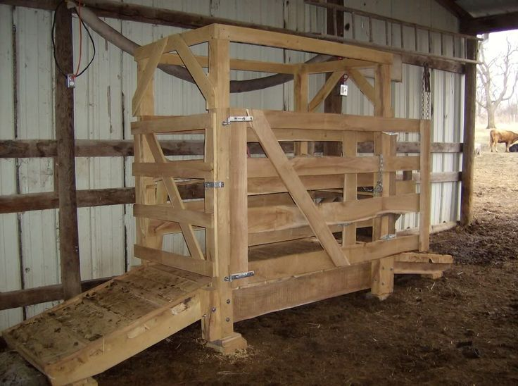 Image Result For Plans For Build Line Wood Cattle Head Stanchion