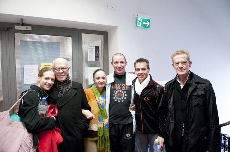 Marcia Haydée answers the Gramilano Questionnaire… Dancers' Edition - Alicia Amatriain, Hans van Manen, Marcia Haydée, Thierry Michel and Luis Ortigoza.