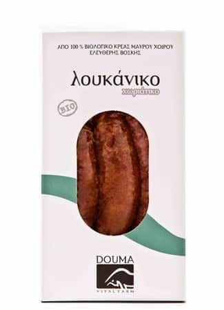 O Θωμάς Ντούμας το 1999, έπειτα από πορεία 15 ετών στην εκτροφή καθαρόαιμων ρατσών βοοειδών, ιδρύει την εταιρία «Αγρόκτημα Ντούμα», έχοντας απώτερο στόχο την Παραγωγή και Διάθεση Βιολογικών Προϊόντων.Η εταιρία ξεκίνησε με βιολογικά μαύρα χοιρινά και αγριογούρουνα, τα οποία εντάχθηκαν για πιστοποίηση στον οργανισμό ελέγχου και πιστοποίησης βιολογικών προϊόντων ΔΗΩ. Bιολογικό λουκάνικο χωριάτικο με πράσο, …