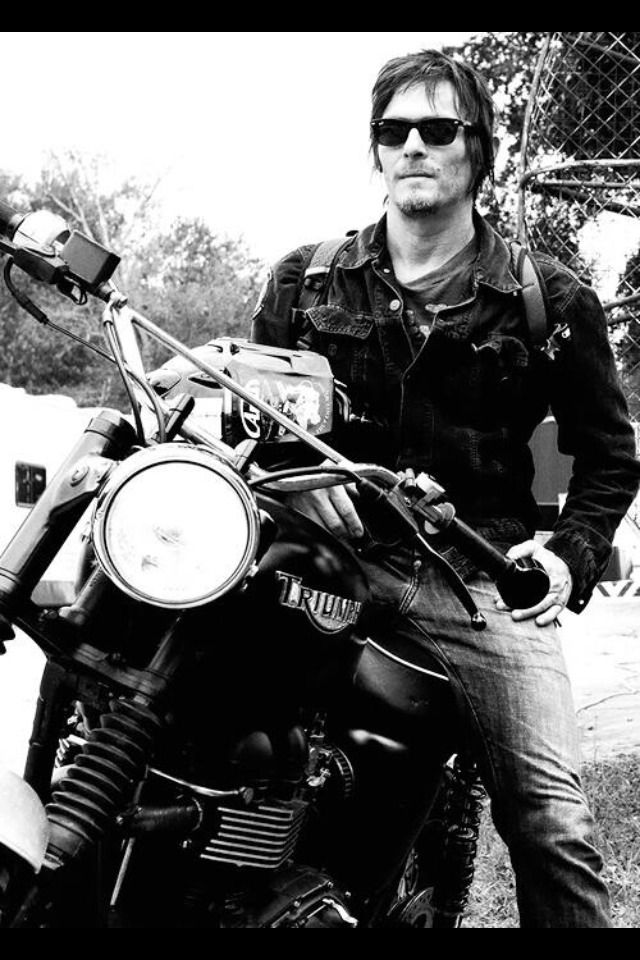 Daryl. The only man who could ever approach me for love without showering first. ...had to keep this part...