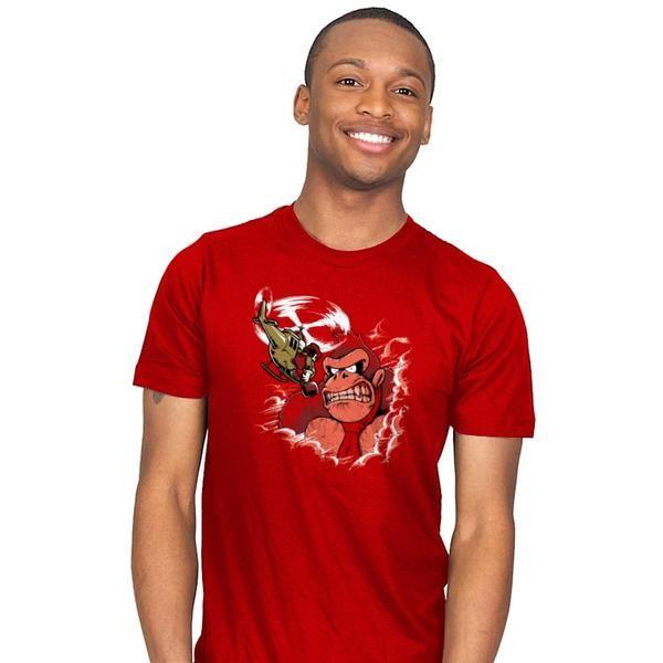 Donkey King: Skull Island T-Shirt - Donkey Kong T-Shirt is $18 at Ript!