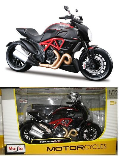 Motorcycles And Atvs 180276 Maisto Motorcycle 1 12 Ducati Diavel