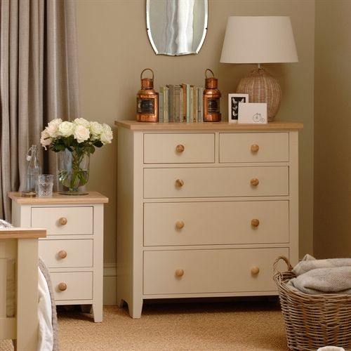 Mottisfont Painted 2+3 Chest Of Drawers