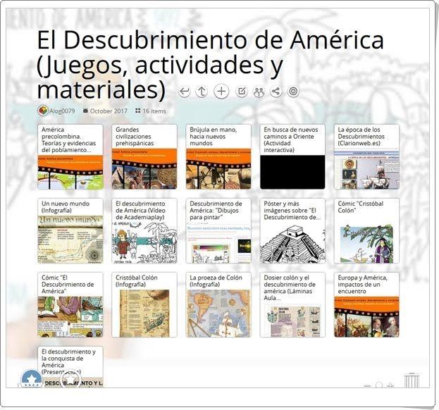 """""""18 Recursos sobre EL DESCUBRIMIENTO DE AMÉRICA"""""""