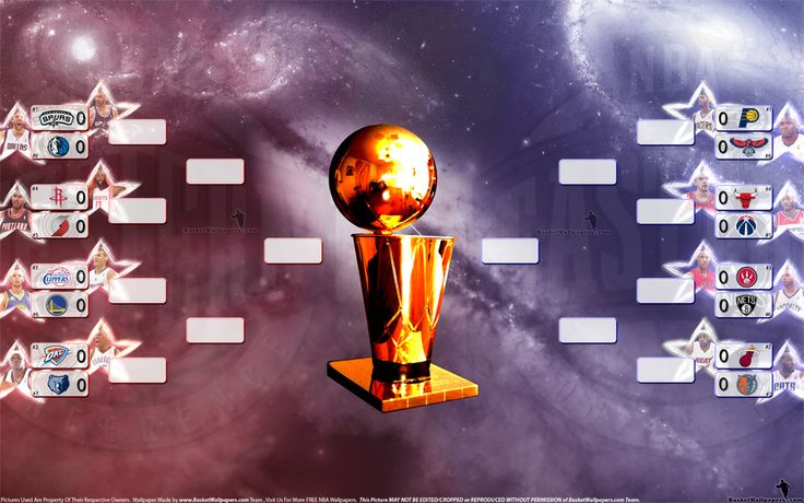 2014 NBA Playoffs Bracket wallpaper that will be daily updated until the end of Playoffs, so stay with me and share it with your friends :) Full size (2560x1600) can be downloaded at - http://www.basketwallpapers.com/USA/NBA-Mix/ :)