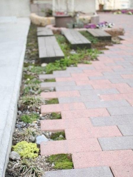簡単DIYで外玄関を模様替え&お庭いろいろ - 暮らしニスタ アプローチ