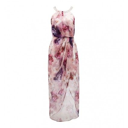 Jaclyn Embellished Wrap Dress Main Image
