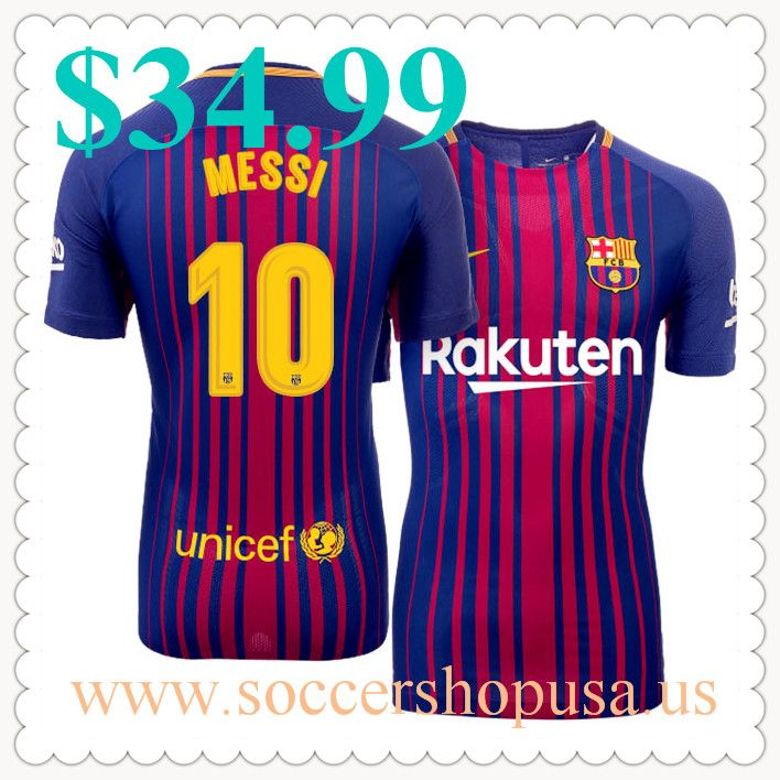 Cheap Barcelona Football Shirts 10 Lionel #Messi Home Royal Soccer Jerseys For Sale