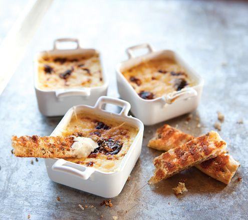 Flan au fromage parmesan | Photo Jean Longpré