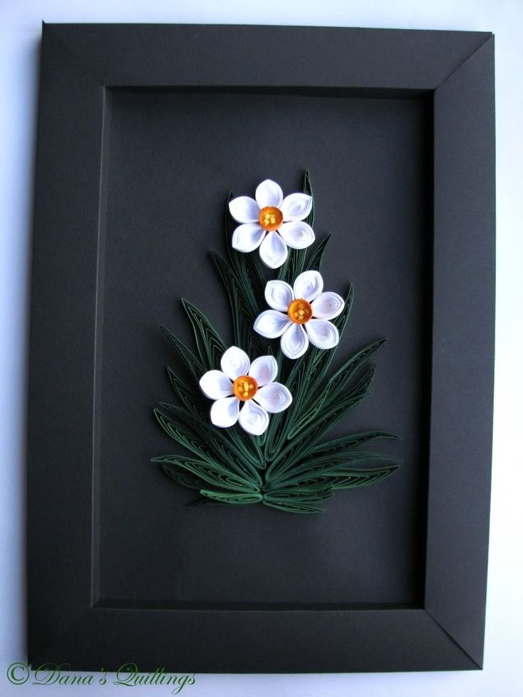 Quilled Frame