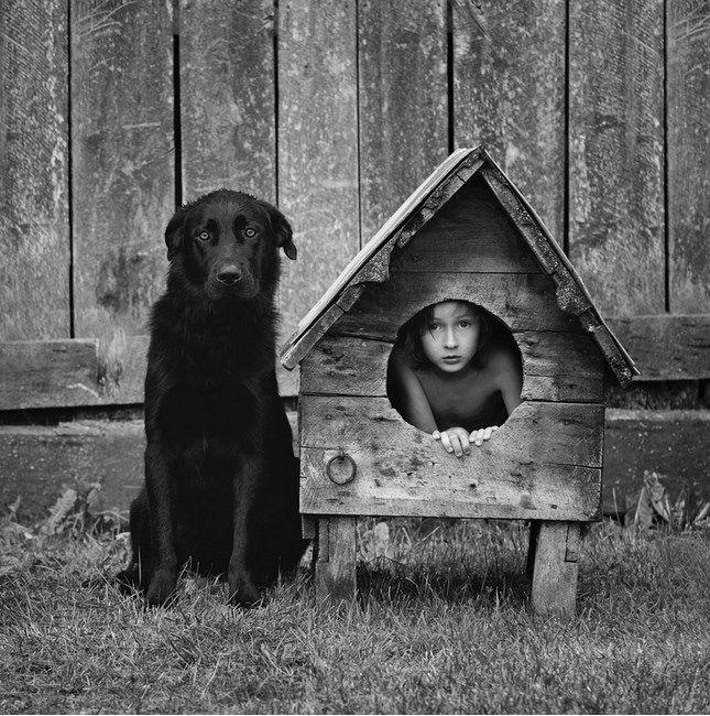 Polonês registra fotografias encantadoras de seus filhos em contato com a natureza : Yacamim
