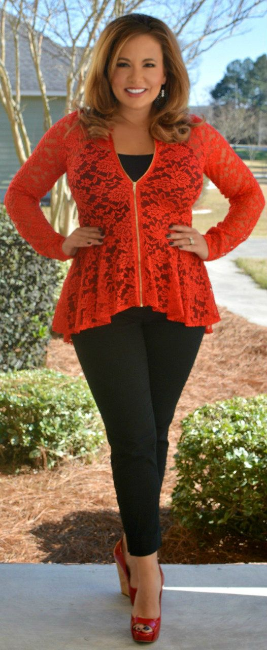 Perfectly Priscilla Boutique - For The Love Of Lace Top, $40.00 (http://www.perfectlypriscilla.com/for-the-love-of-lace-top/)