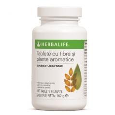 Tablete cu fibre si plante aromatice