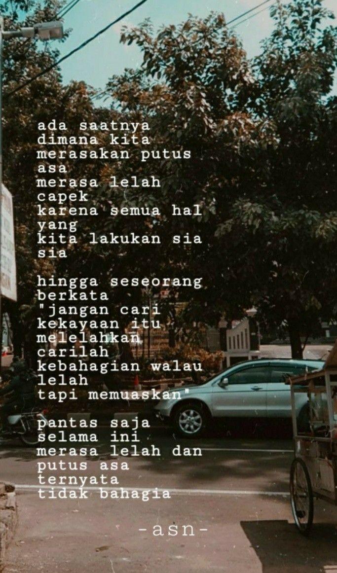 Bahagialah Bahagia Perasaan Puisi