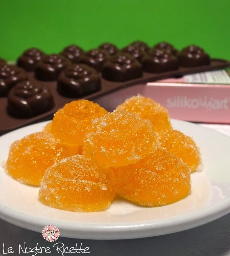 Le nostre Ricette: Caramelle Gelee all'arancia e limone