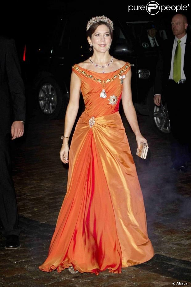 115 best Crown Princess Mary Evening Wear images on Pinterest ...