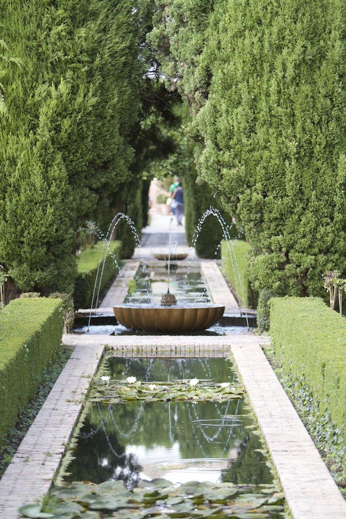 La alhambra - Granada - Espanha