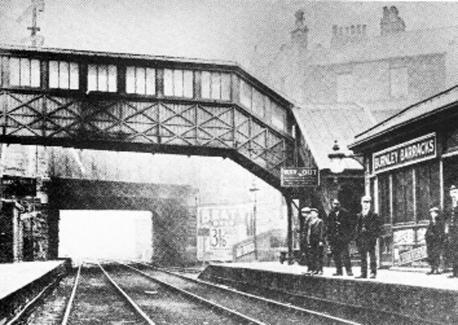Lancashire Telegraph: Burnley Barracks in its heyday