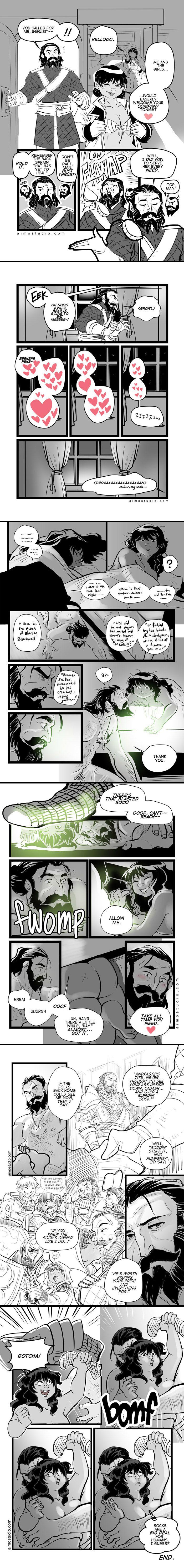 DAI The Sock Saga by aimo on DeviantArt