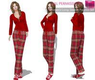 MI Rigged Mesh Women's Long Sleeve Pyjama Set