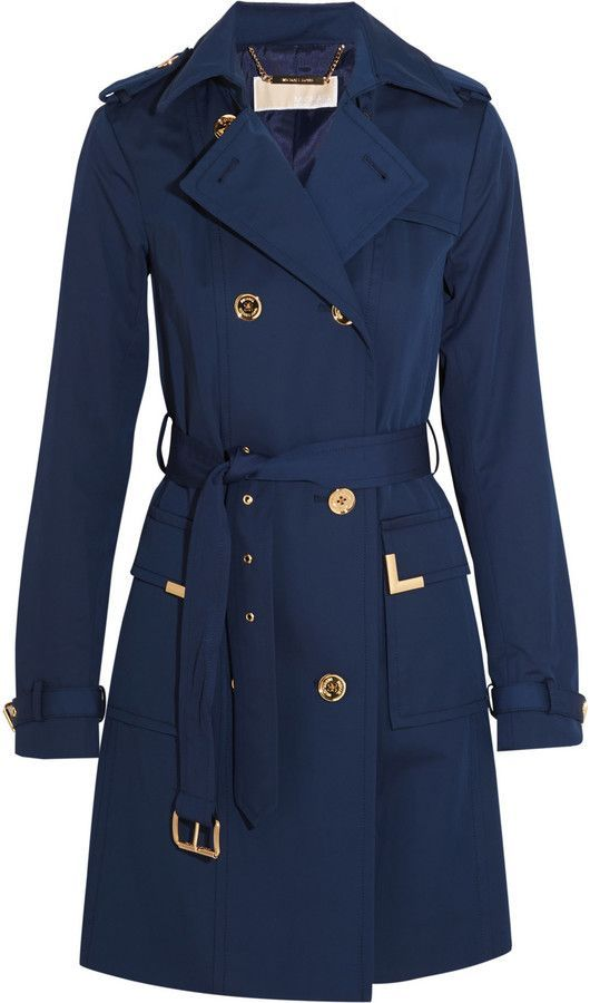 MICHAEL Michael Kors Beverly Cotton-Blend Trench Coat