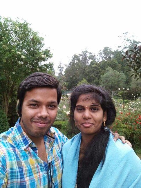 Suahma and me - park - kodaikanal - July 20th 2015