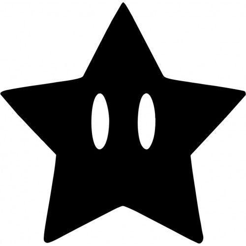 Mario Star Vinyl Decal Sticker    eBay