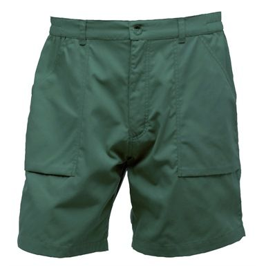 These Regatta TRJ332 Action Shorts feature 2 front large pockets with hem bellows, plus 2 rear pockets (one with a concealed zip). They are also available in a range of waist sizes and colours.