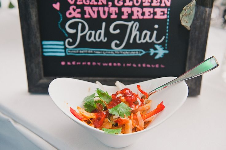 Spice things up with an Asian noodle bar at your reception.