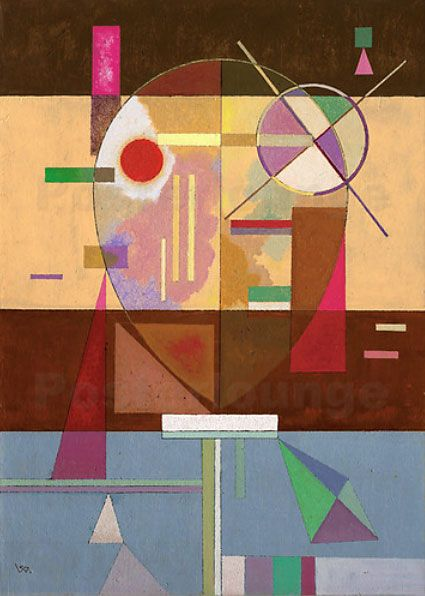 Wassily Kandinsky - Disintegrated Tension, 1930