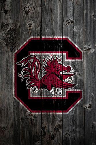 South Carolina Gamecocks Wood iPhone 4 Background | Flickr - Photo Sharing!