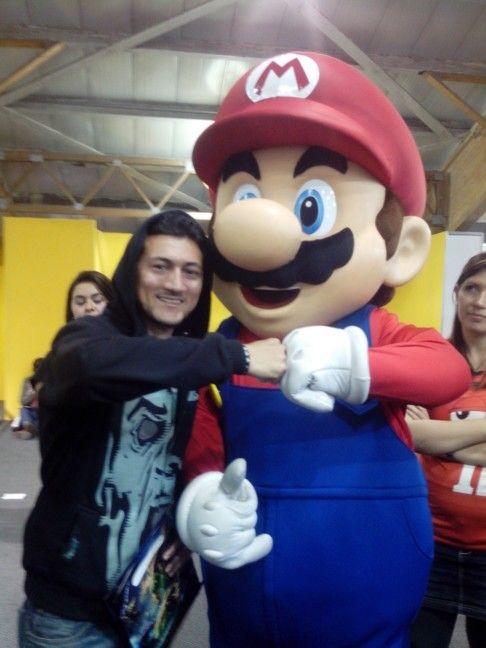 It's him, Mario!