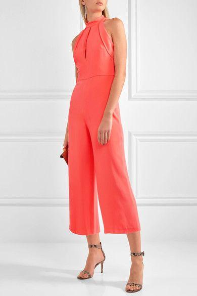 Bubblegum-pink silk Concealed hook and zip fastening at back 100% silk; lining: 95% polyester, 5% elastane Dry clean Designer color: Flamingo