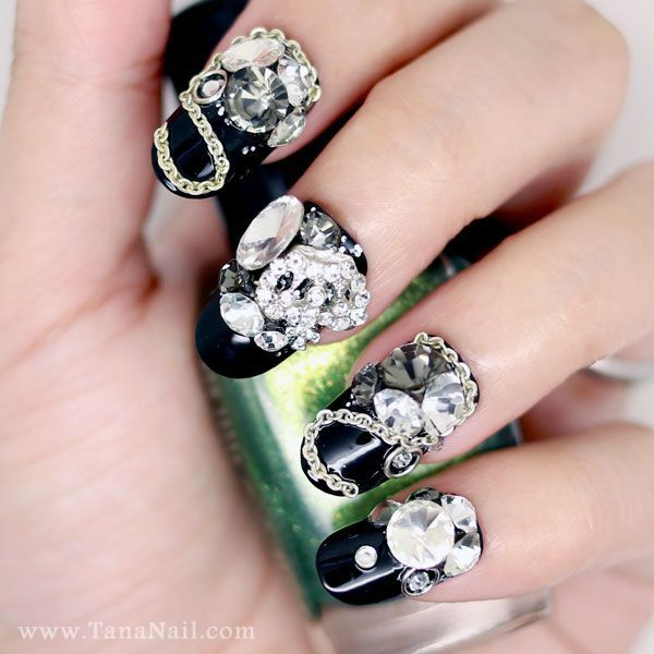 31 best Nails images on Pinterest | Press on nails, Tip nails and 3d ...