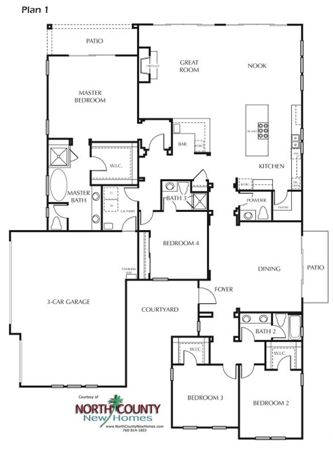 8 New Homes In Carlsbad North County New Homes House Floor Plans Floor Plans New Homes