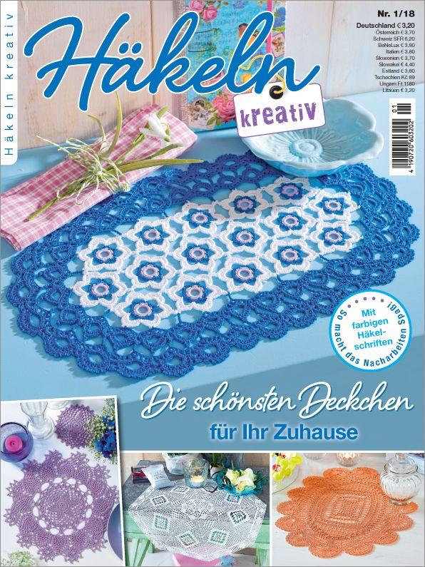 Häkeln Kreativ Nr 12018 Die Schönsten Deckchen Für Ihr Zuhause