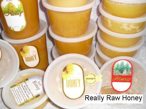 12 oz Organic Really Raw Honey  Naturally by MillCreekHoney, $5.99