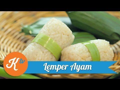 Siapa bilang bikin jajanan pasar itu susah? Resep Lemper Ayamini bisa foodies coba di rumah loh.    Sumber : Youtube.com byKokiku Tv