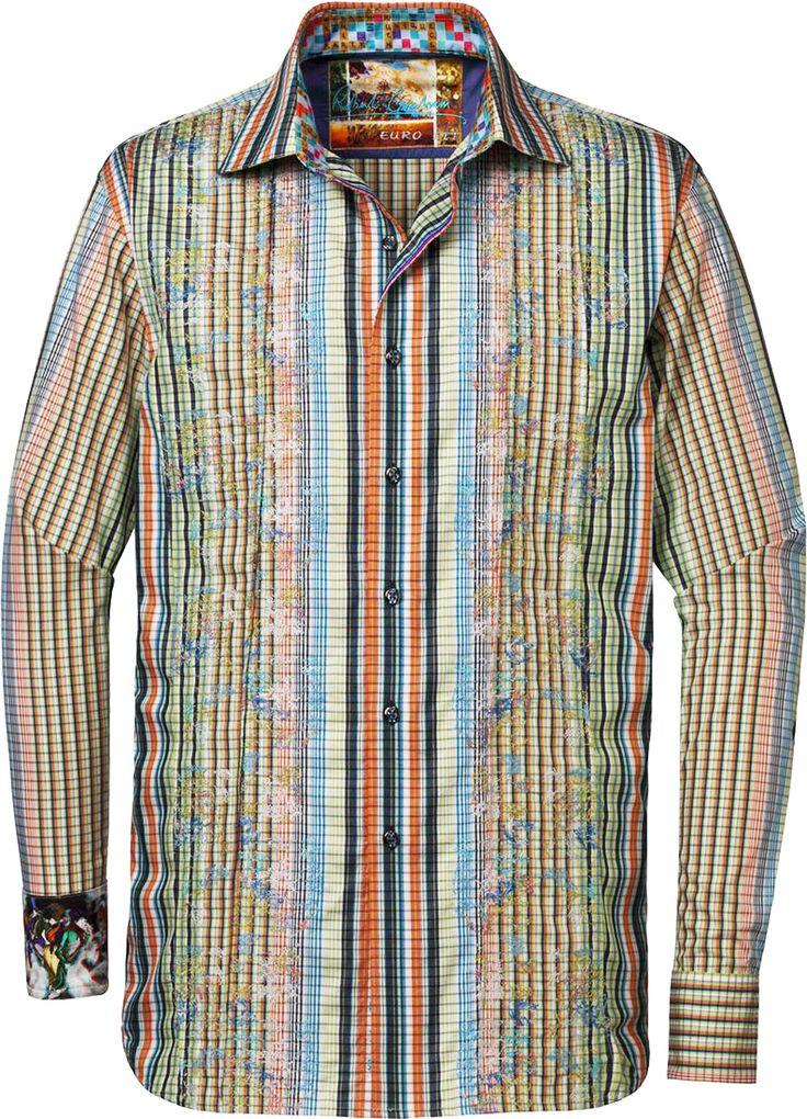 Robert graham mens cheltenham sport shirt multi robert for Robert graham sport shirt