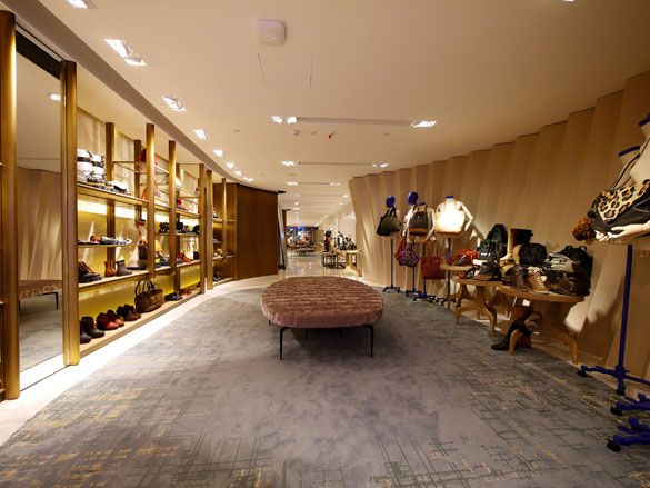 The Shoe Library at Lane Crawford, Hong Kong