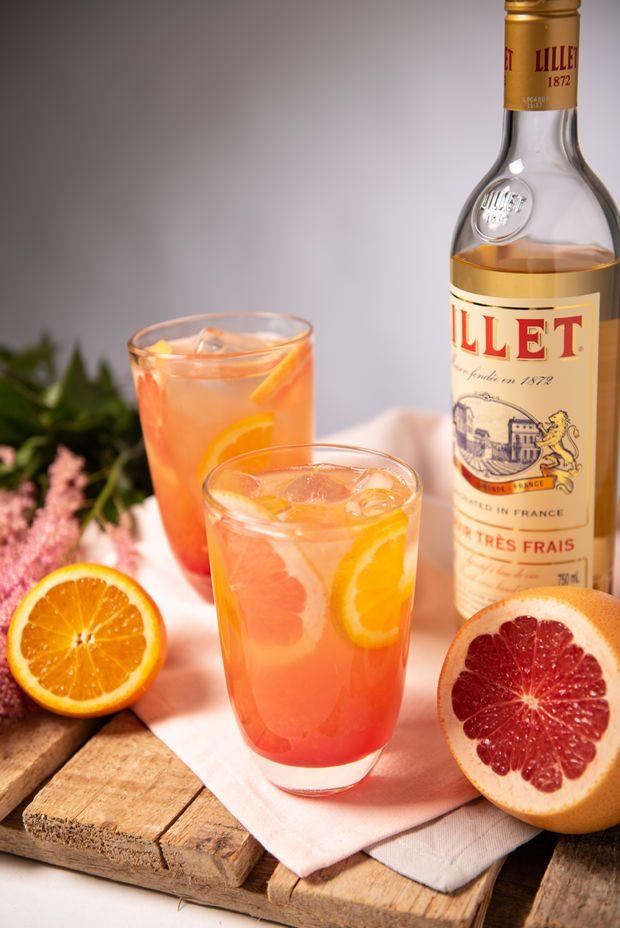 Wer Lillet-Cocktails kennt, ist schon begeistert, …