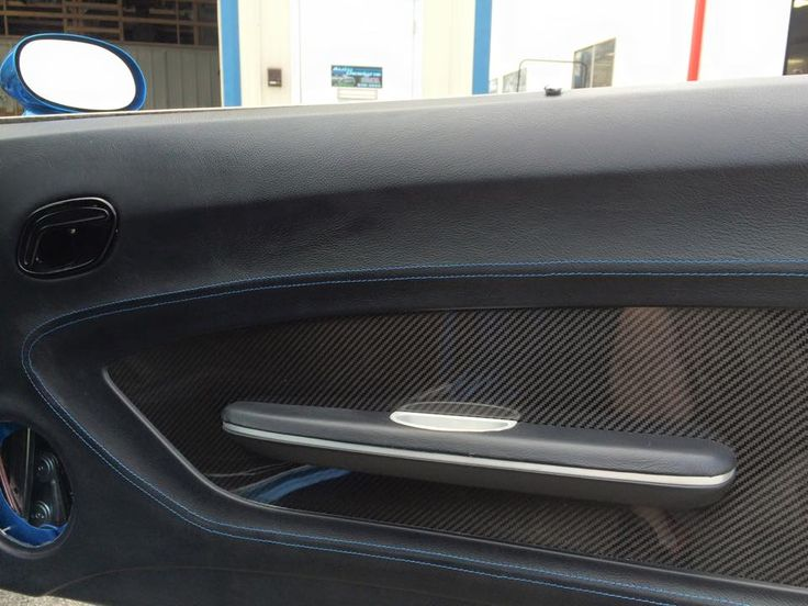 69 Camaro Fesler Door Panels Carbon Fiber Insert Custom Touch Auto Addiction Interiors