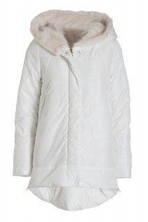 Deha bílá zimní bunda