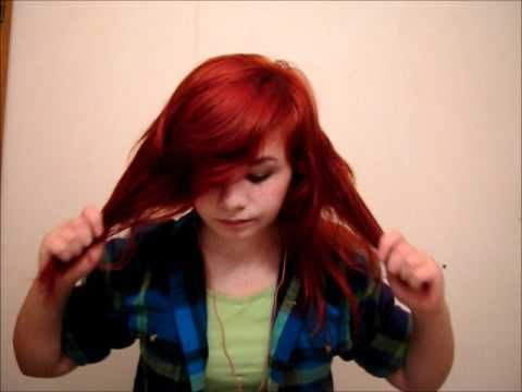 How to style emo/scene hair. (neutral) I've watched this video about 5 times now, and OH MY WORD!!! It helps so much!!!