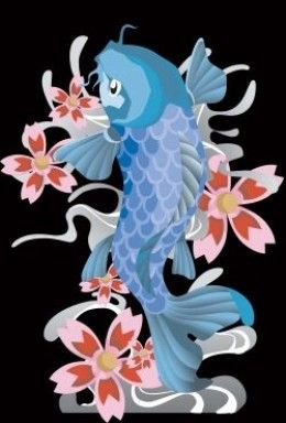1000 images about koi fish tattoo on pinterest for Blue koi fish meaning