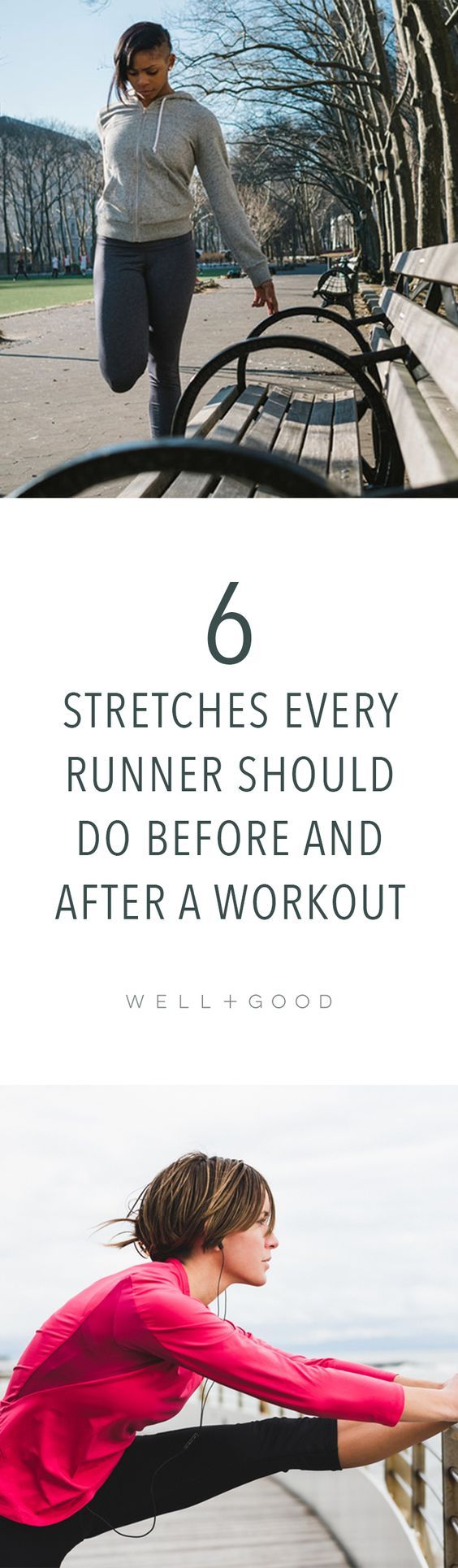 How to stretch after a workout.