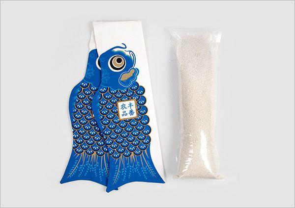 Fish&Rice-Rice Packaging